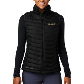 Columbia Lake 22 Ladies Black Vest-UNC Pembroke