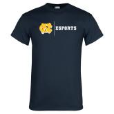 Navy T Shirt-ESports