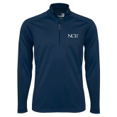 Syntrel Navy Interlock 1/4 Zip-NCU Logo