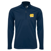 Syntrel Navy Interlock 1/4 Zip-NC Interlocking