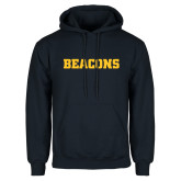 Navy Fleece Hoodie-Beacons