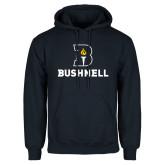 Navy Fleece Hoodie-Bushnell Athletic Mark