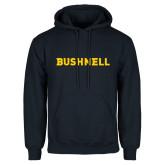 Navy Fleece Hoodie-Bushnell Athletics Wordmark