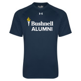 Under Armour Navy Tech Tee-Bushnell University Alumni
