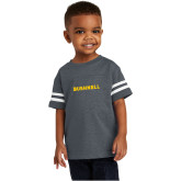 Toddler Vintage Navy Jersey Tee-Bushnell Athletics Wordmark