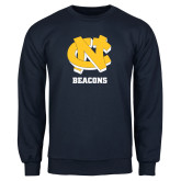 Navy Fleece Crew-CN Beacons