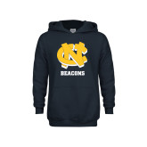 Youth Navy Fleece Hoodie-CN Beacons