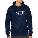 Adidas Navy Team Issue Hoodie-NCU Logo