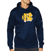 Adidas Navy Team Issue Hoodie-NC Interlocking