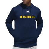 Adidas Navy Team Issue Hoodie-Bushnell Athletic Mark