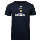 Adidas Climalite Navy Ultimate Performance Tee-Bushnell Athletic Mark