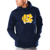 Under Armour Navy Armour Fleece Hoodie-NC Interlocking