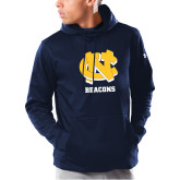 Under Armour Navy Armour Fleece Hoodie-CN Beacons