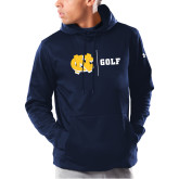 Under Armour Navy Armour Fleece Hoodie-Golf
