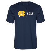 Performance Navy Tee-Golf