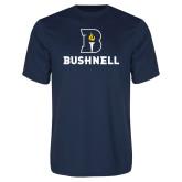 Performance Navy Tee-Bushnell Athletic Mark
