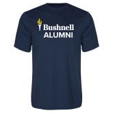 Performance Navy Tee-Bushnell University Alumni