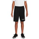 Youth Black Competitor Shorts-Bushnell University Primary Mark