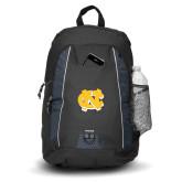 Impulse Black Backpack-NC Interlocking
