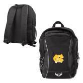 Atlas Black Computer Backpack-NC Interlocking