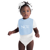 Light Blue Baby Bib-NCU Logo