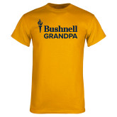 Gold T Shirt-Bushnell University Grandpa