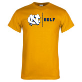 Gold T Shirt-Golf