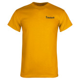 Gold T Shirt-Bushnell University Primary Mark