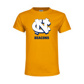 Youth Gold T Shirt-CN Beacons