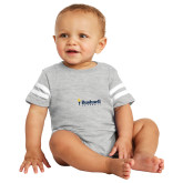 Vintage Heather Jersey Onesie-Bushnell University Primary Mark