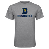Grey T Shirt-Bushnell Athletic Mark