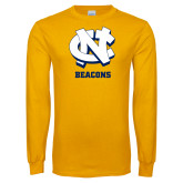 Gold Long Sleeve T Shirt-CN Beacons
