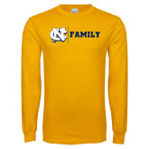 Gold Long Sleeve T Shirt-Family
