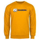 Gold Fleece Crew-Grandma