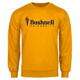 Gold Fleece Crew-Bushnell University Primary Mark