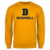 Gold Fleece Crew-Bushnell Athletic Mark