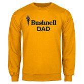 Gold Fleece Crew-Bushnell University Dad
