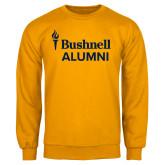 Gold Fleece Crew-Bushnell University Alumni