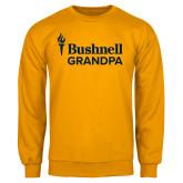 Gold Fleece Crew-Bushnell University Grandpa