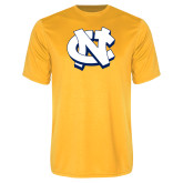 Performance Gold Tee-NC Interlocking