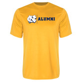 Performance Gold Tee-Alumni