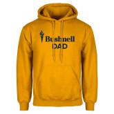 Gold Fleece Hoodie-Bushnell University Dad