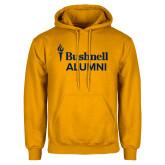 Gold Fleece Hoodie-Bushnell University Alumni