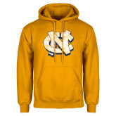 Gold Fleece Hoodie-Official Artwork Distressed 2