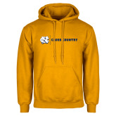 Gold Fleece Hoodie-Cross Country