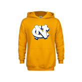 Youth Gold Fleece Hoodie-NC Interlocking