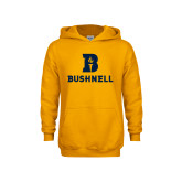 Youth Gold Fleece Hoodie-Bushnell Athletic Mark