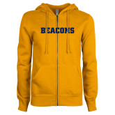 ENZA Ladies Gold Fleece Full Zip Hoodie-Beacons