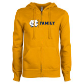 ENZA Ladies Gold Fleece Full Zip Hoodie-Family