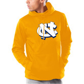 Under Armour Gold Armour Fleece Hoodie-NC Interlocking